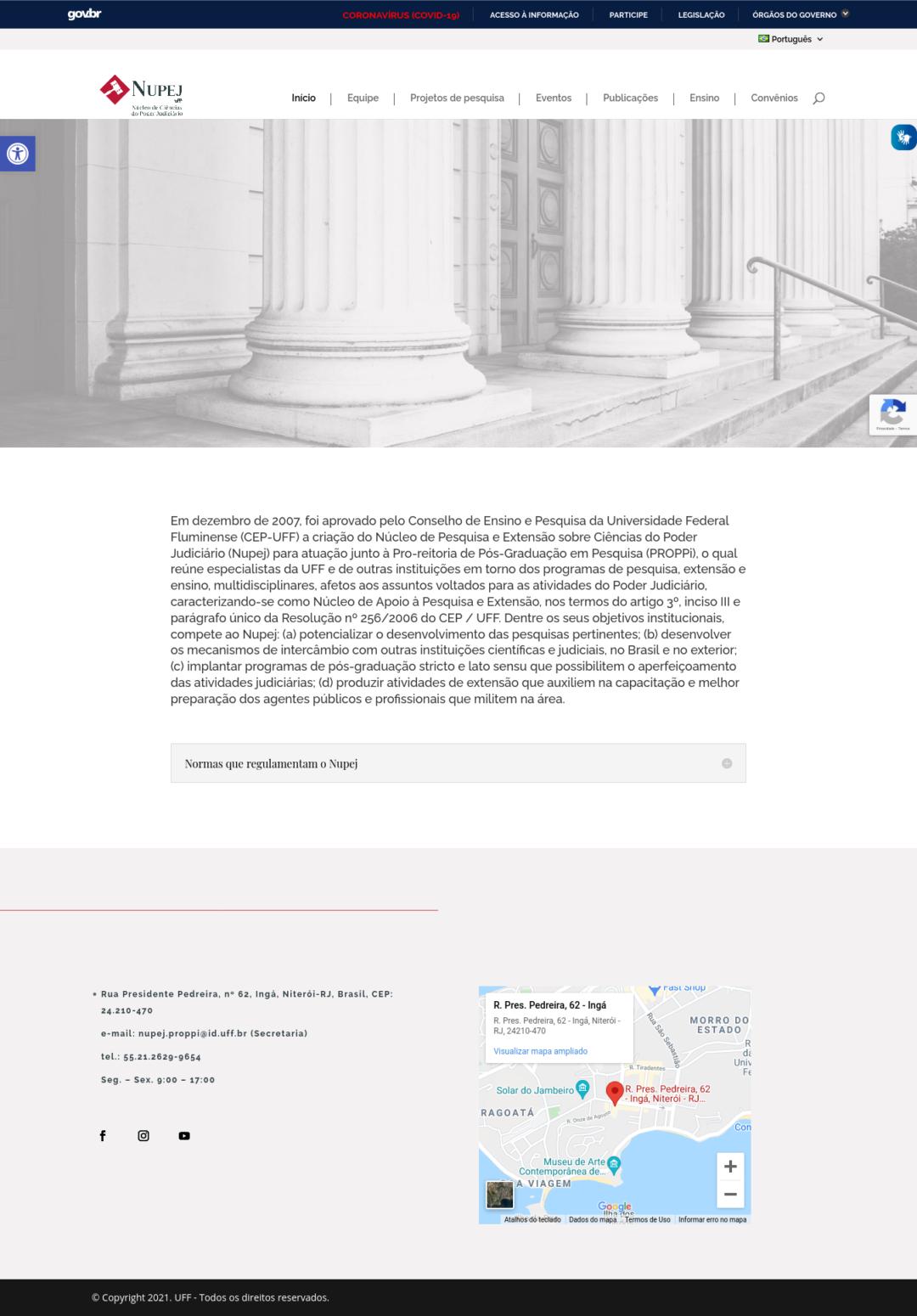 ScNúcleo de Pesquisa e Extensão sobre Ciências do Poder Judiciário